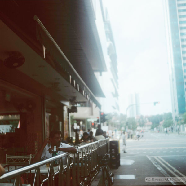 singapore street cafe beer 120mm