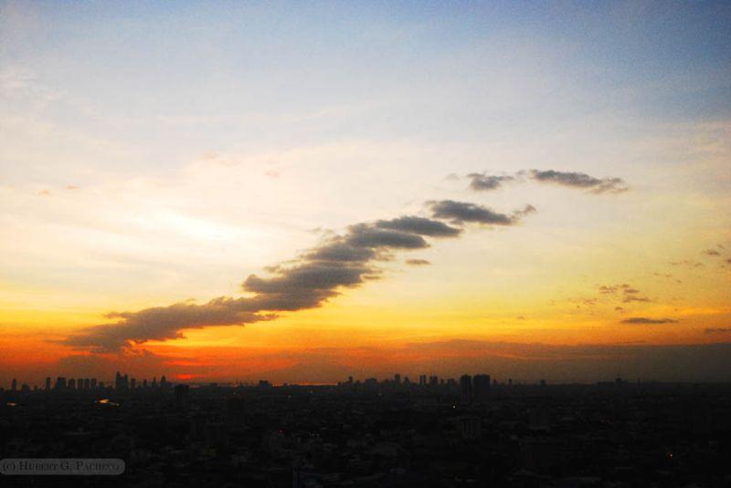 greenhills san juan sunset view