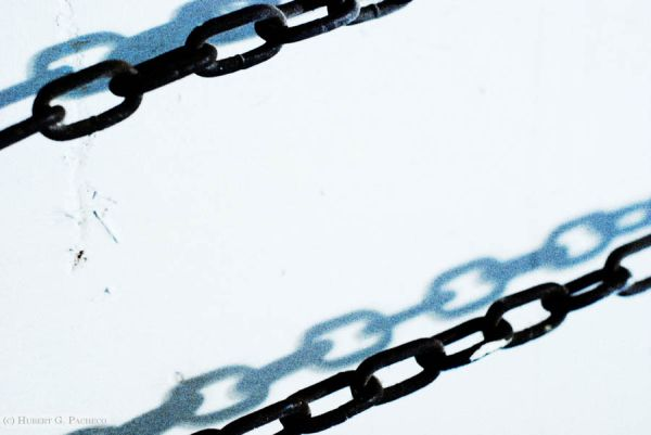 chains on wall