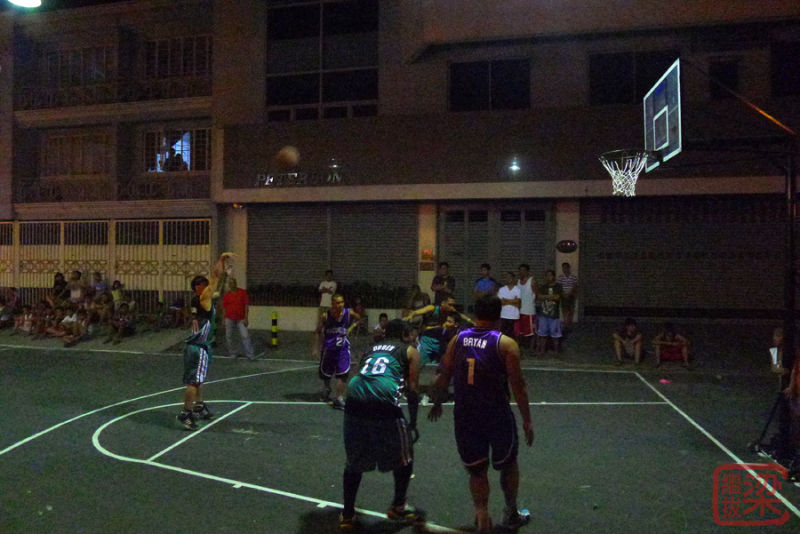 Estrada street basketball game Manila