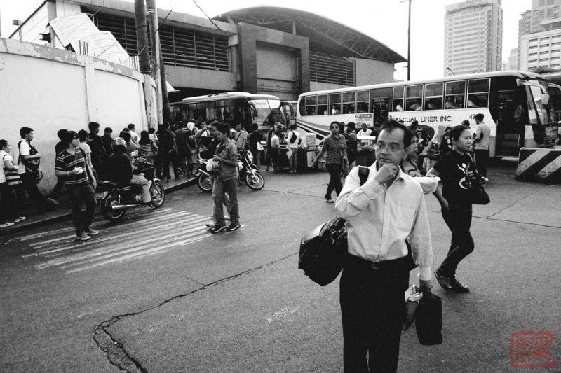 EDSA Ayala MRT Fort Bus terminal