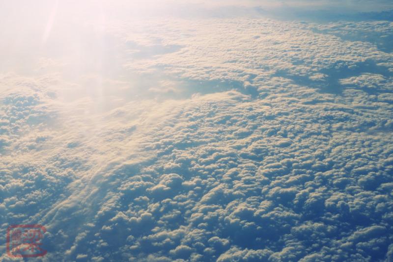 clouds cumulus overhead