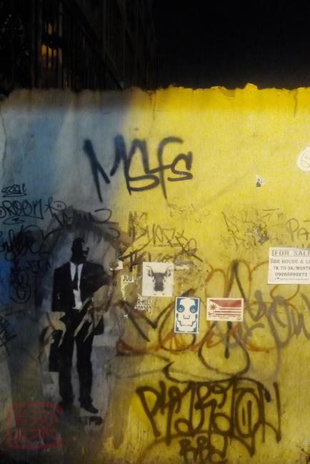 buendia ave, makati, graffiti