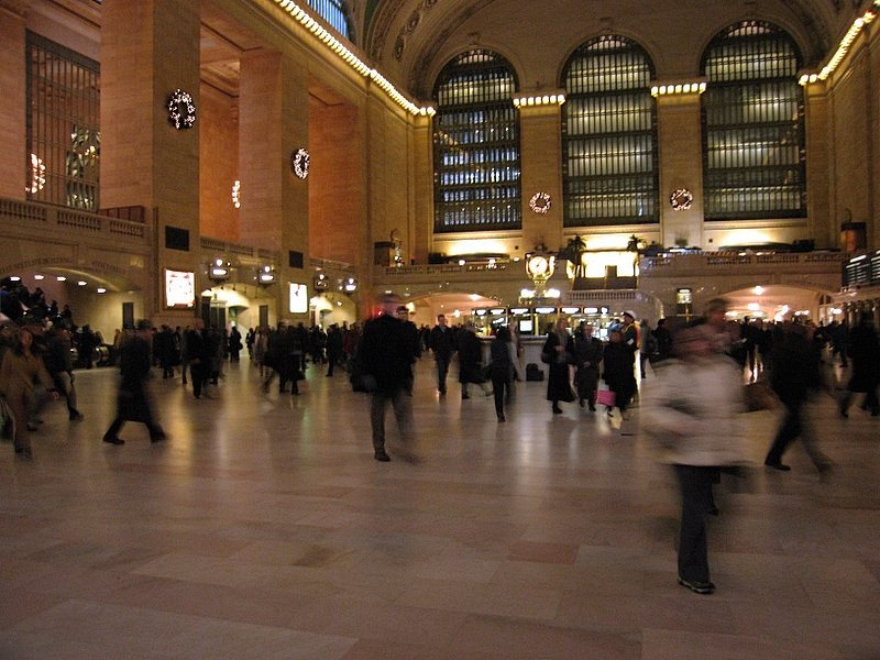 grand central station - N.Y.
