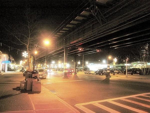 below the L - (Bronx-N.Y.)