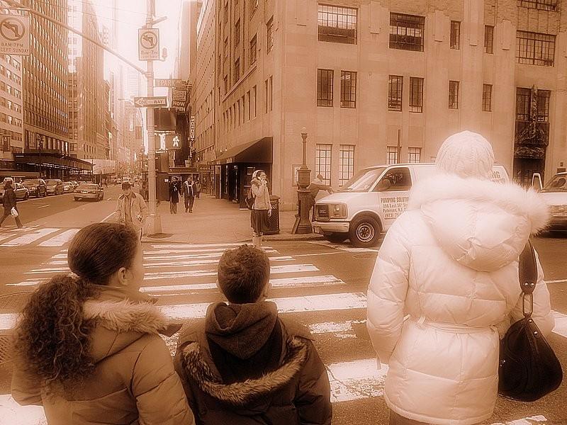 waiting to cross II