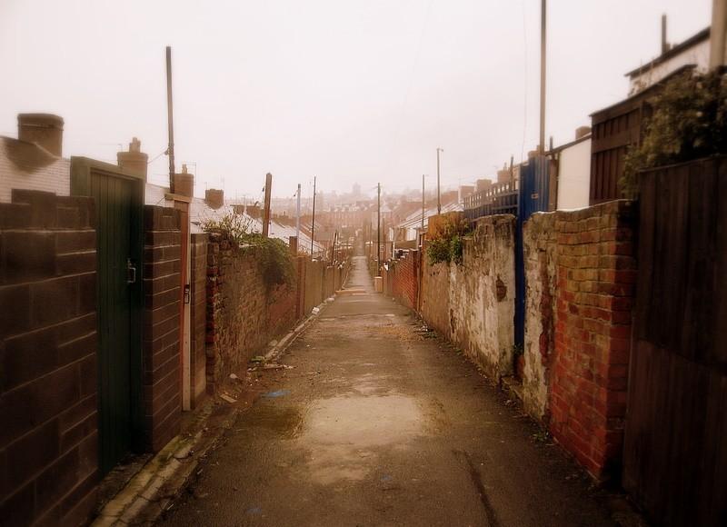 back alley II...
