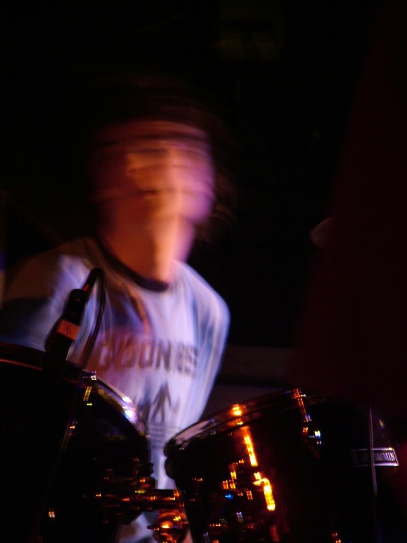george, drummer