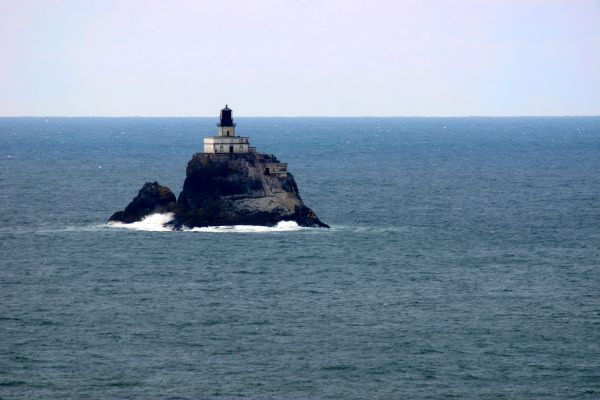 Lighthouse from Ecola State Park