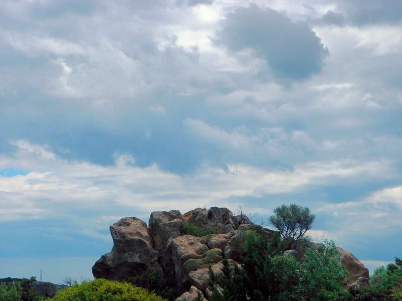 Monte Petrosu, Sardinia, Italy, landscape nature