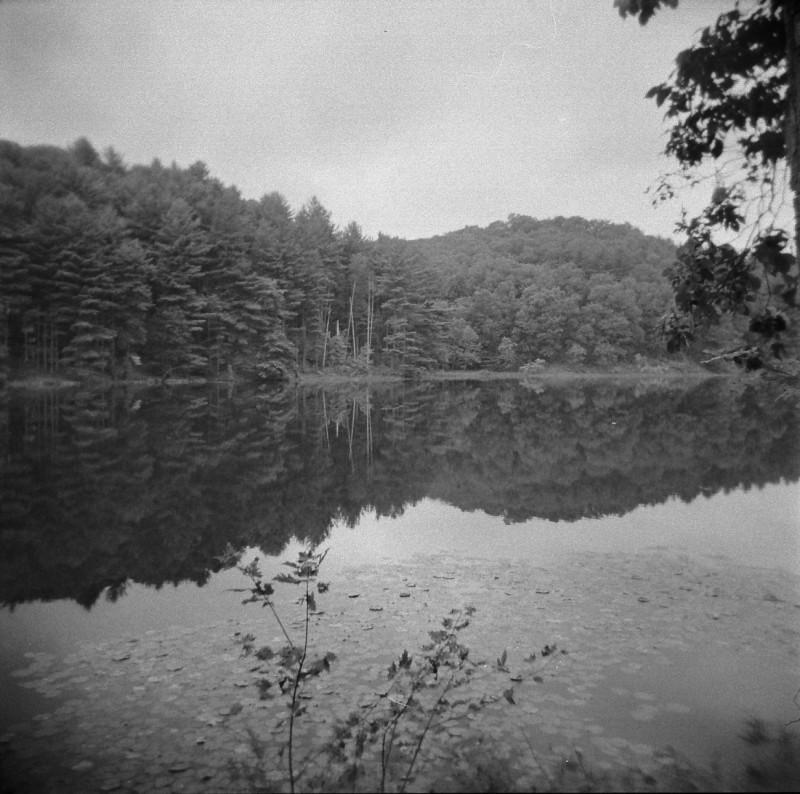 lake hope reflection