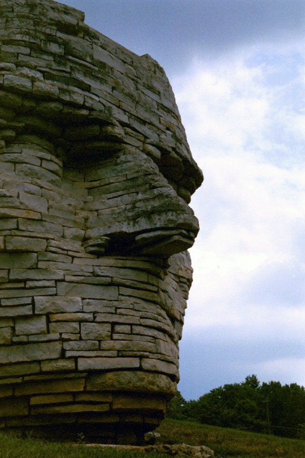 leatherlips statue scioto park