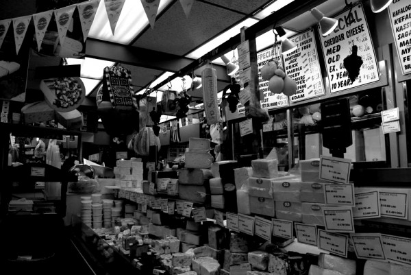 cheese stand in st. lawrence market