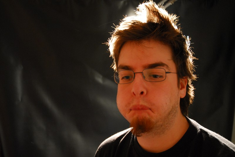 silly outake from a studio shoot