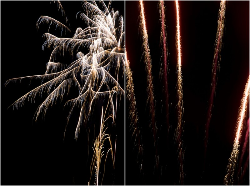 firework diptych