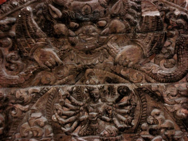 Kumari Temple Relief
