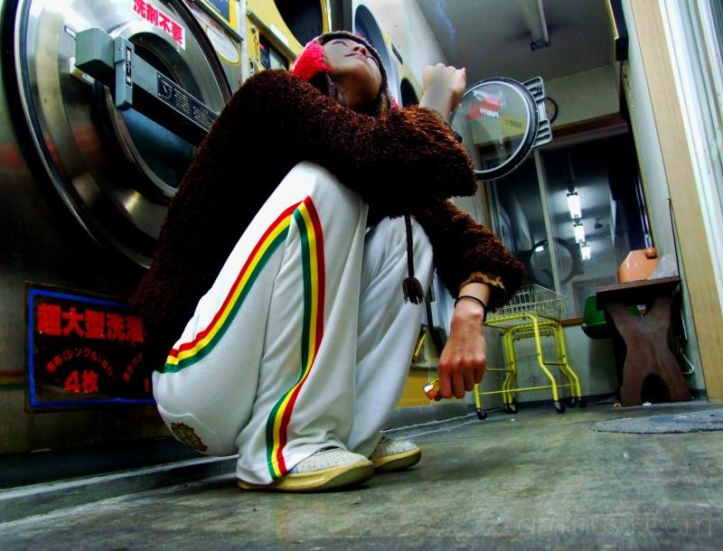 laundry japan kyoto kameoka girl portrait urban