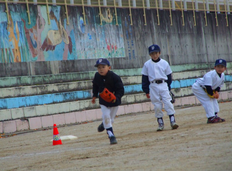 baseball japan kyoto kids kameoka