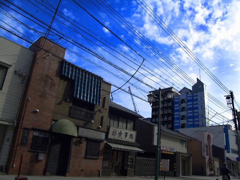 cafe bon kyoto japan japanese urban