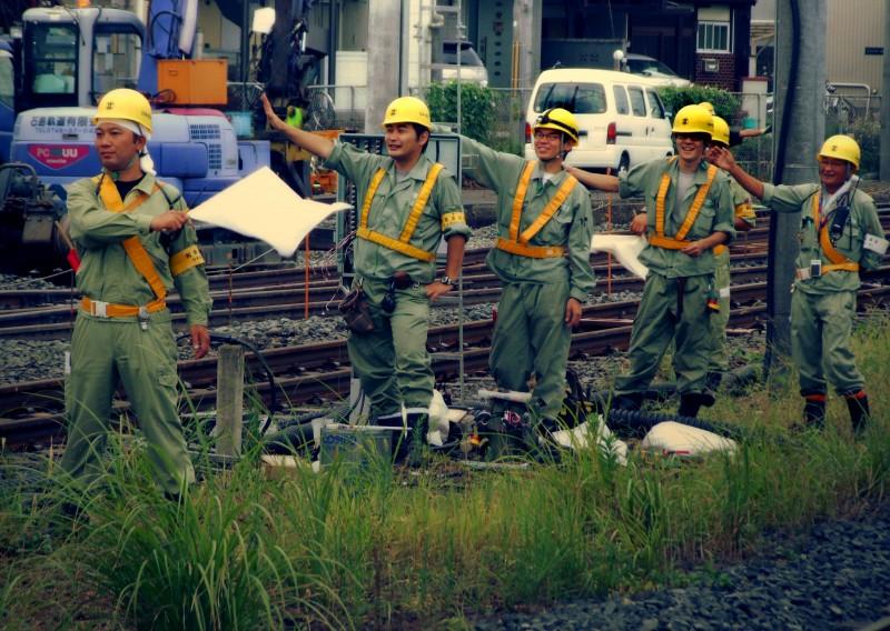 kameoka kyoto japan JR train
