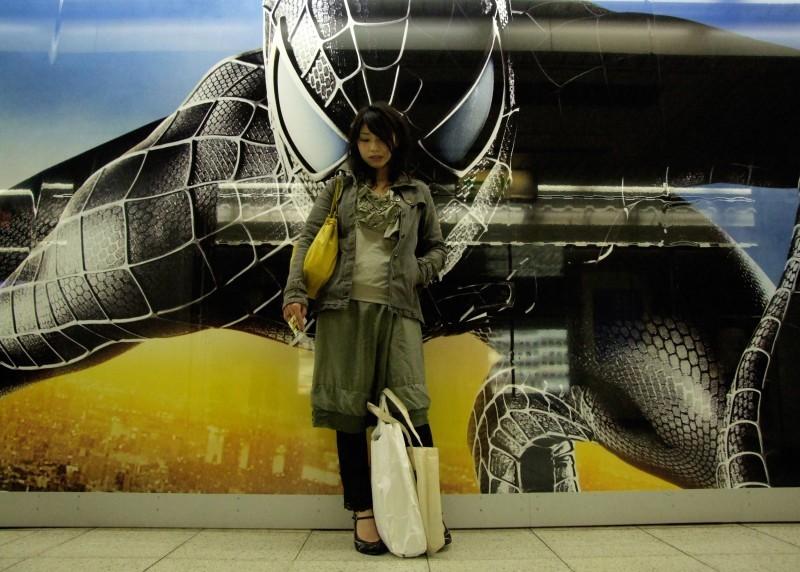 subway train nagoya japan