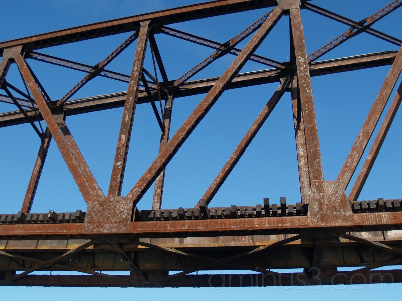 Railroad Bridge over the Mississippi