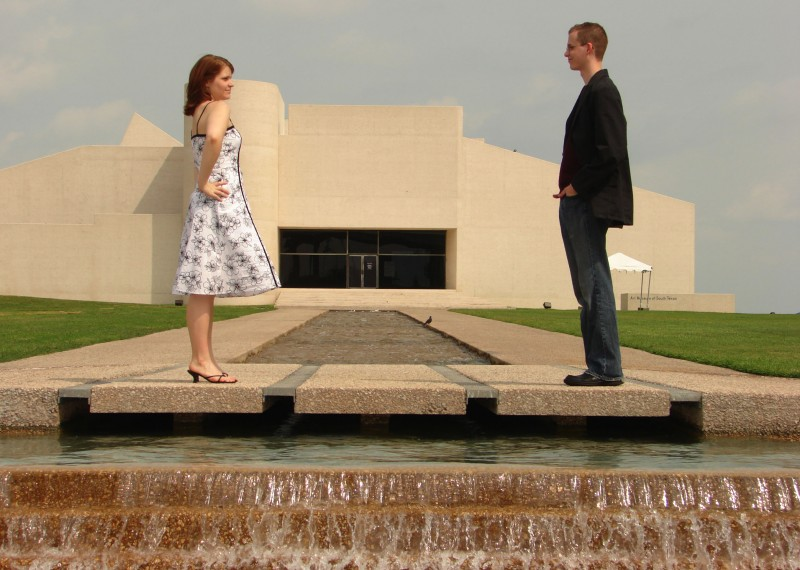 Sarah and Sheldon's Engagement Picture
