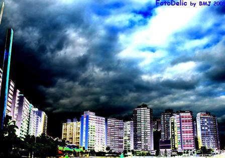Buildings in Guarujá-São Paulo