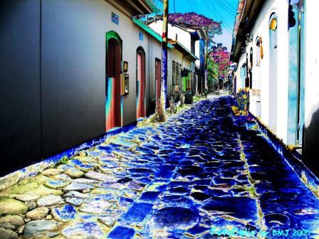 Street of Paraty-Rio de janeiro