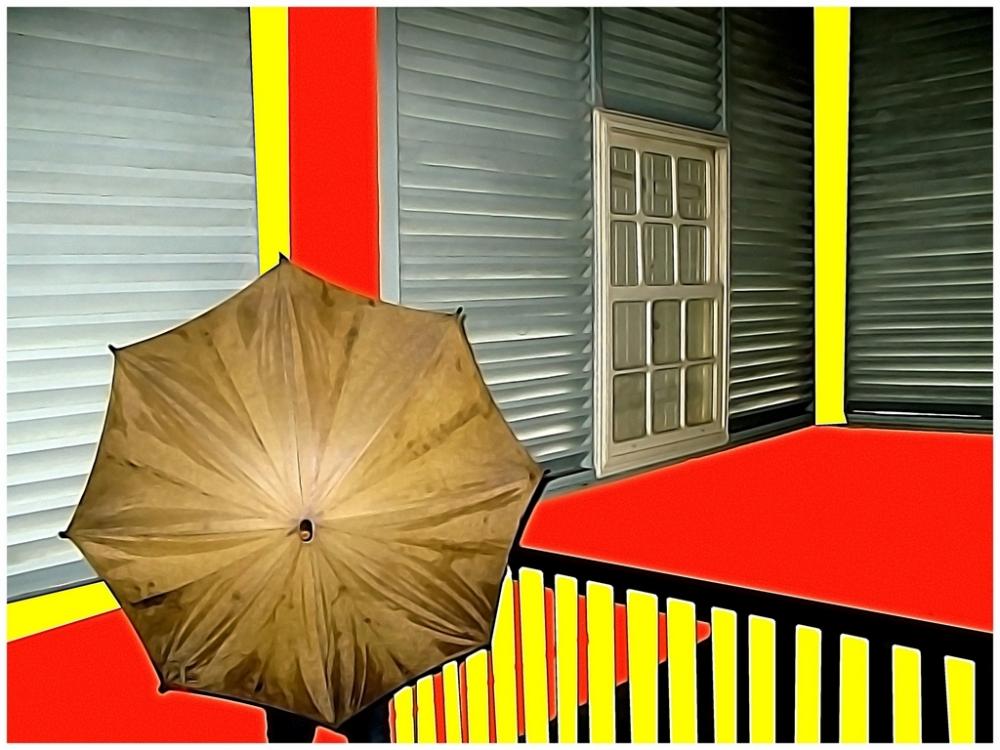 an umbrella
