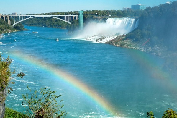 Rainbow, Rainbow Bridge, Rainbow Falls