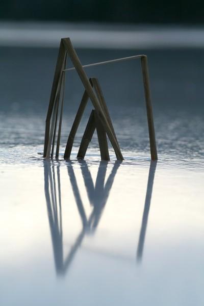 Ice reflexion - Réflexion de glace