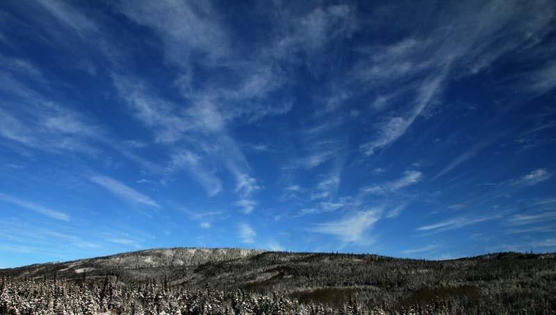 Winter sky- Ciel d'hiver