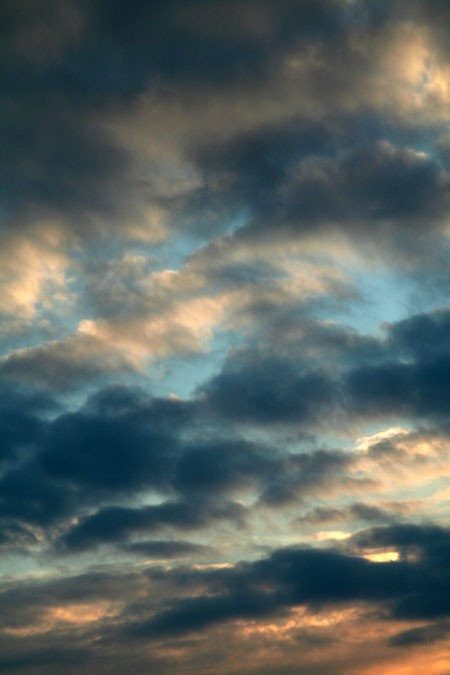 Morning sky -Ciel du matin