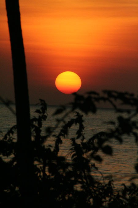 The sunrise - Le lever du soleil