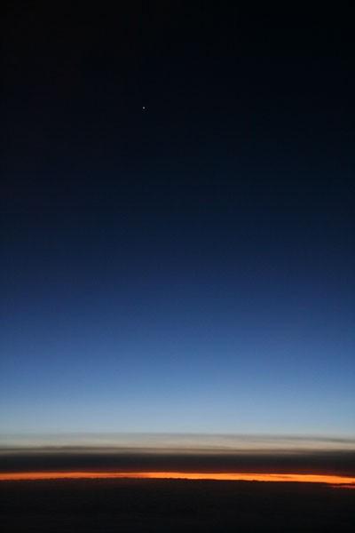 Air twilight - Crépuscule aérien
