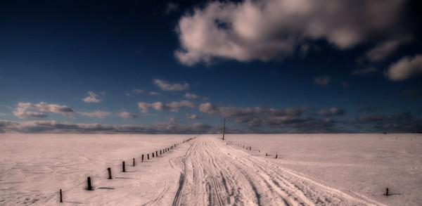 Winter path - Sentier d'hiver
