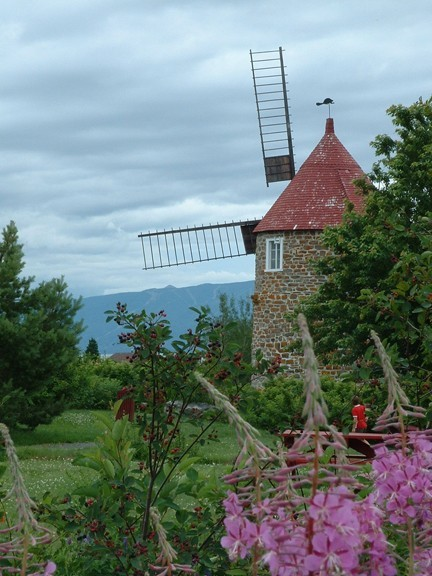 Wind mill - Moulin à vent