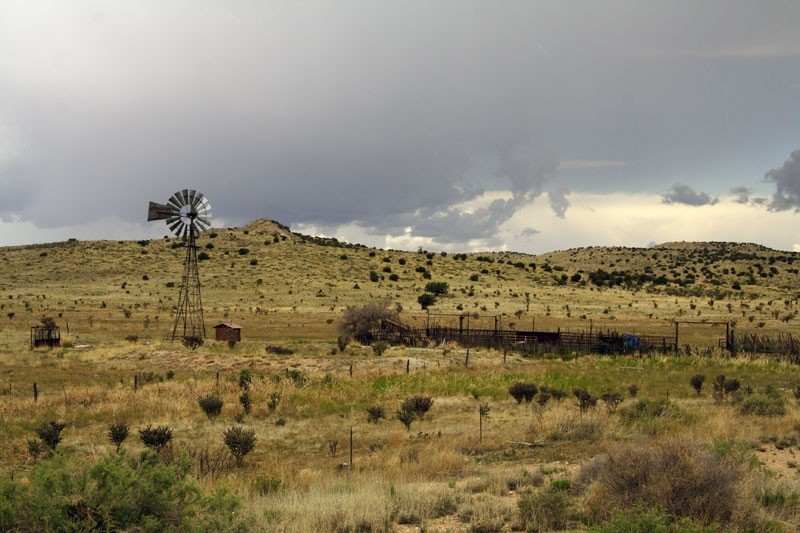 Near Carrizozo, New Mexico