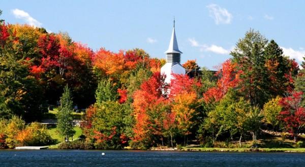 Lac Beauport's chapel