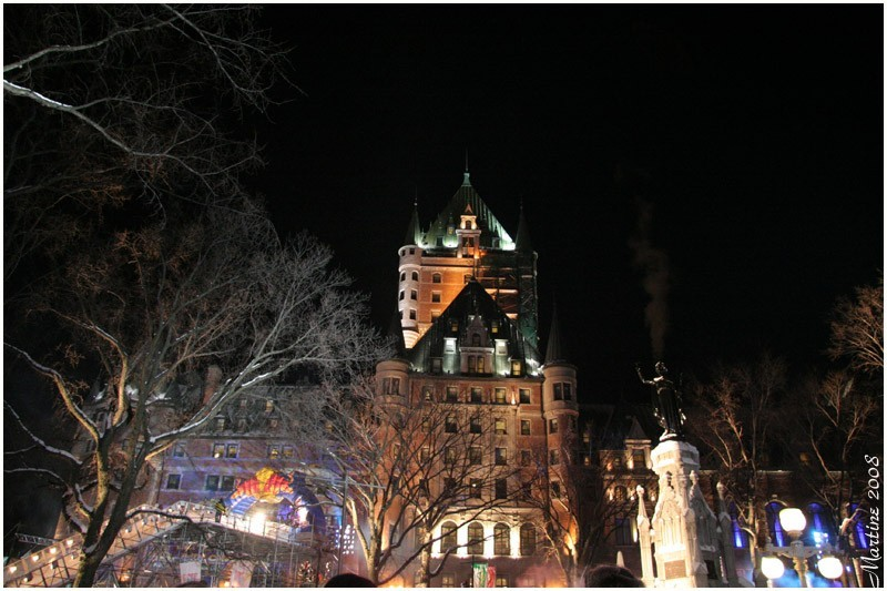 Red Bull Crashed Ice 2 and the Château Frontenac