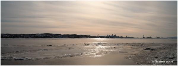 Ices on the St-Lawrence - Glaces sur le St-Laurent