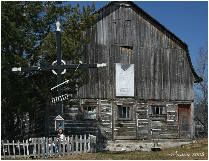 Old barn of Charlevoix 2
