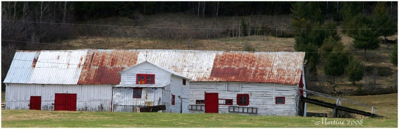 Old barn of Charlevoix 6 (end of the serie)
