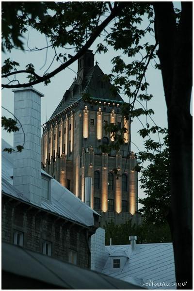 Quebec City by night 2 - Québec la nuit 2