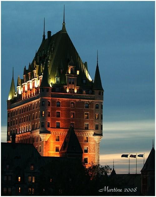 Québec la nuit