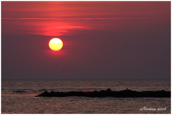 Sunset - Coucher du soleil