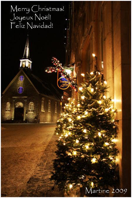 Merry Christmas - Joyeux Noël - Feliz Navidad