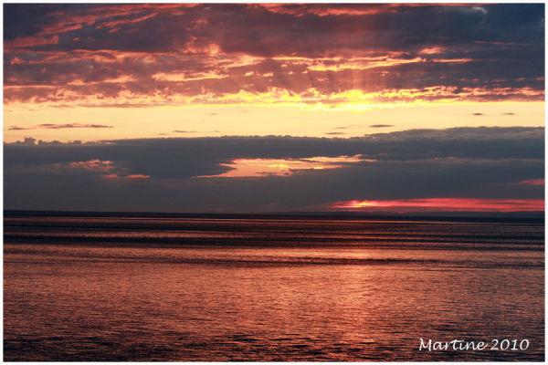 Sunrise in St-Siméon 4