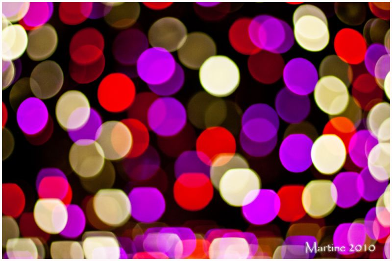 Bubble light - Bulle de lumière